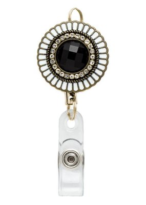 Laura Jenelle ***Retractable Medallion Badge Reel