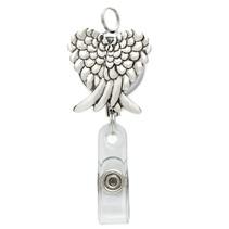 Retractable Angel Wings Badge Reel