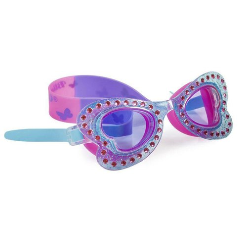 Bling2O Monarch Blue Butterfly Swim Goggles
