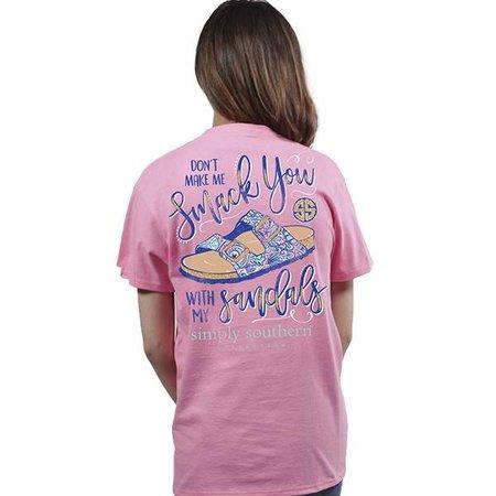 Preppy Sandals Flamingo