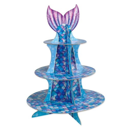 Mermaid Cupcake Stand