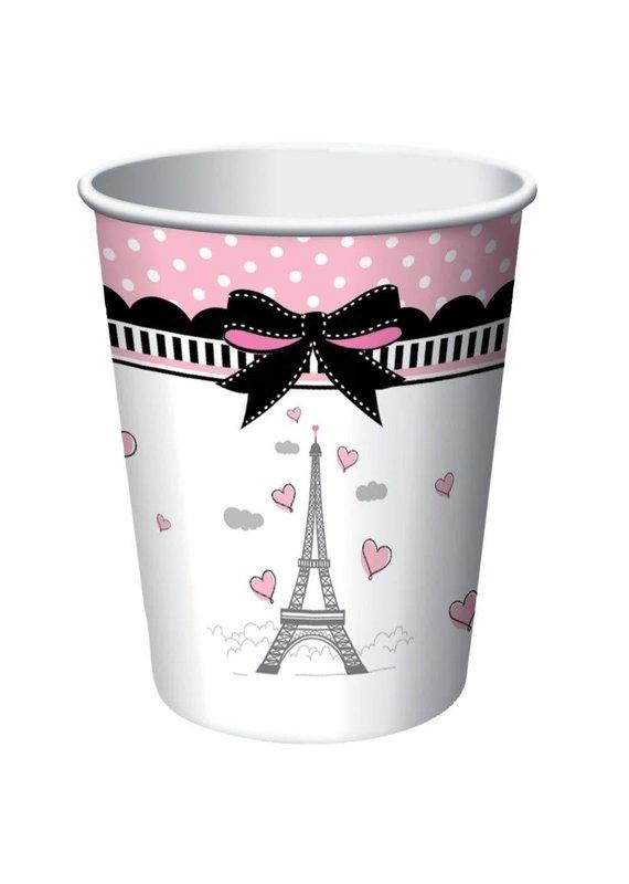 ****Party in Paris 9oz Cups