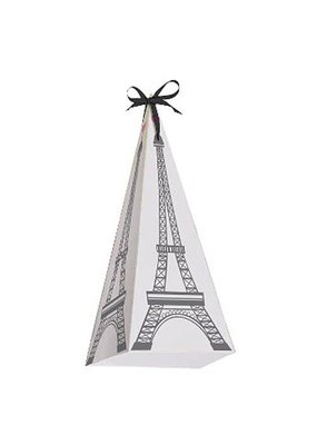 ***Party in Paris Cone Shaped Treat Boxes 8ct