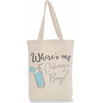 ***Cabana Boy Beach Canvas Bag
