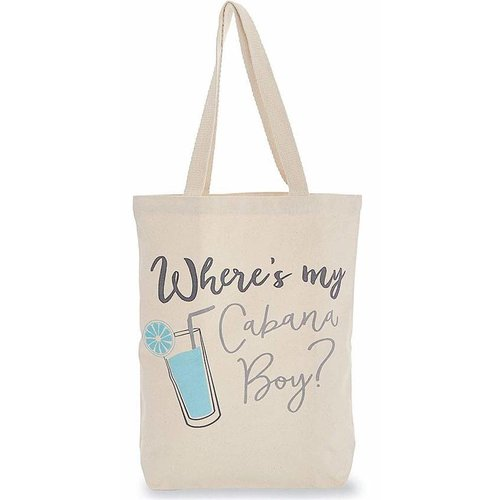 Cabana Boy Beach Canvas Bag