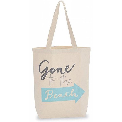 Gone to the Beach Canvas Bag