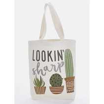 ***Lookin' Sharp Canvas Tote Bag