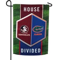 ***Florida & Florida State House Divided Garden Flag