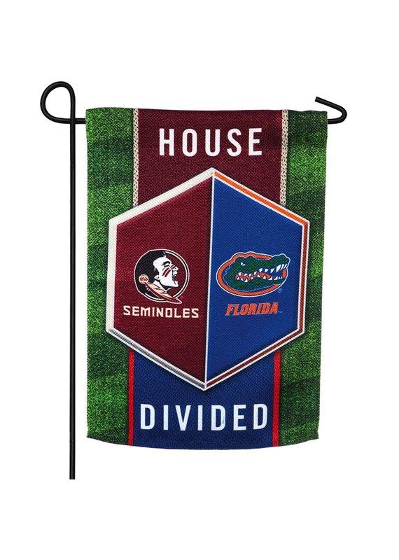 ****Florida & Florida State House Divided Garden Flag