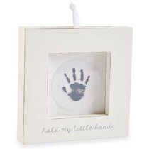***White Hand and Foot Print Frame