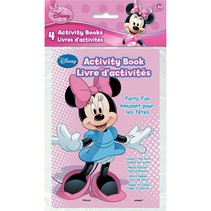 ***Minnie Mouse Activity Books 4ct