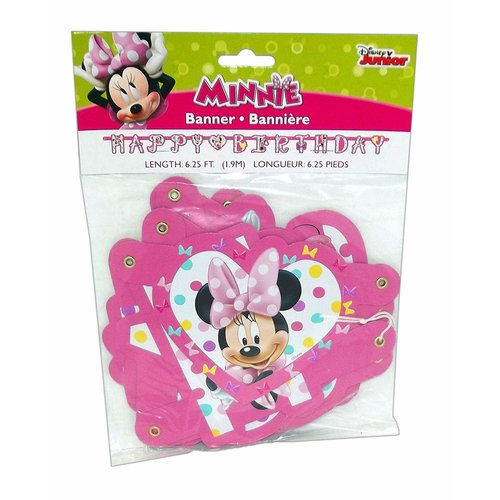 ***Minnie Mouse Jointed Birthday Banner