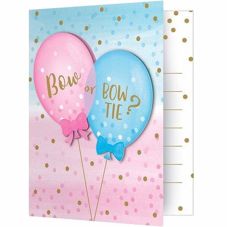 ***Gender Reveal Balloons Invitations