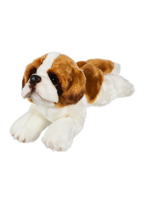 "***St. Bernard 12"" Stuffed Animal"