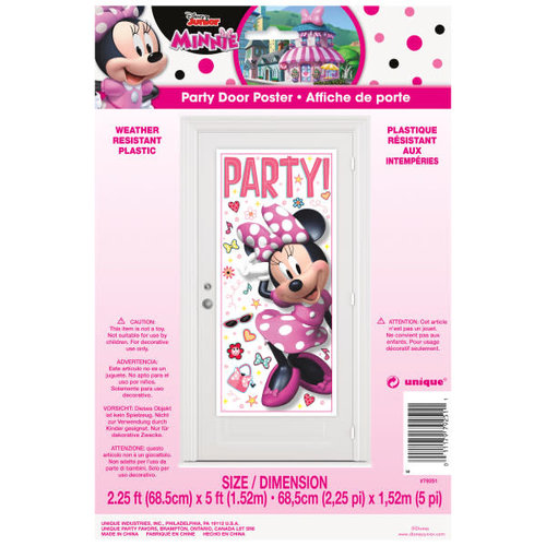 Iconic Minnie Mouse Door Poster