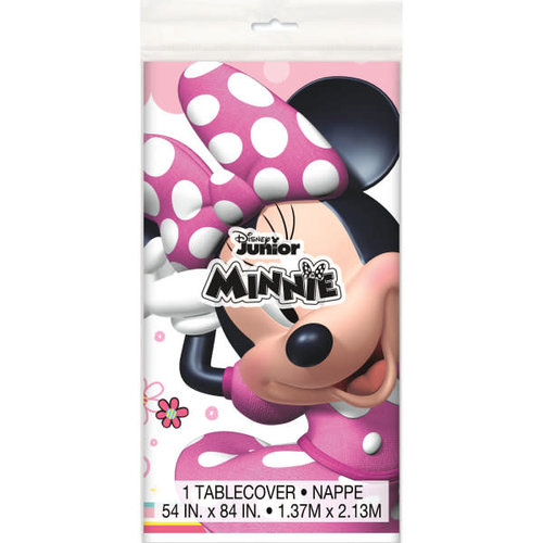 Iconic Minnie Mouse Plastic Tablecover