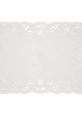 ***White Placemat Doilies 8ct
