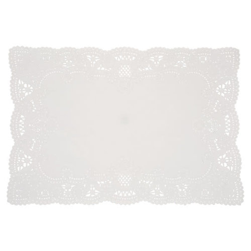 White Placemat Doilies
