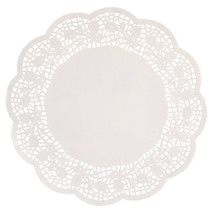 "***Doilies 10.5"" White 16ct"