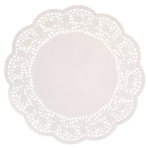 "**Doilies 10.5"" White 16ct"