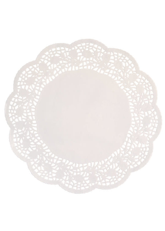 "****Doilies 10.5"" White 16ct"