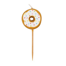 ***Donut Pick Birthday Candles 6ct.