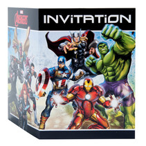 ***Avengers Invitations, 8ct