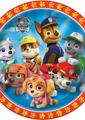 "***Paw Patrol 9"" Dinner Plates 8ct"