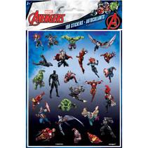 ***Avenger Sticker sheets 4ct