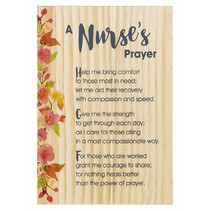 *Nurse's Prayer Wooden Plaque