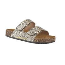 Gold Sequin Sandal
