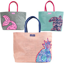 ***Simply Southern Jute Totes