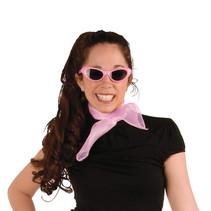 """***Pink Chiffon Scarf 22"""" x 22"""""""