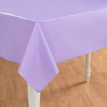 ***Luscious Lavender 54x108 Rectangle Plastic Tablecover