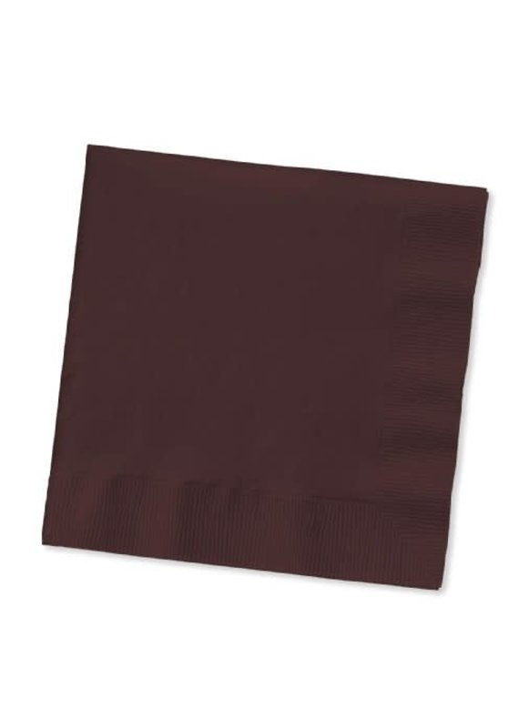 ****Chocolate Brown 3ply Lunch Napkins 50ct