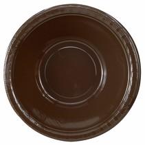 ***Chocolate Brown 12oz Plastic Bowls 20ct