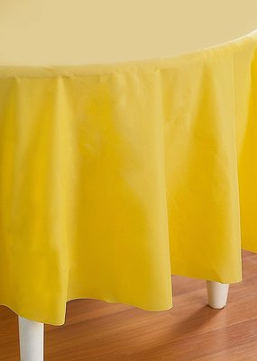 """***Mimosa 82"""" Octy Round Plastic Tablecover"""