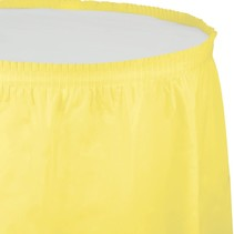 ***Mimosa 14ft Plastic Table Skirt