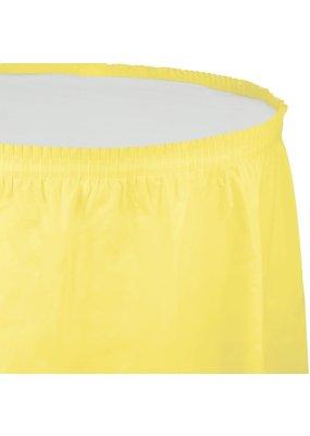 ***Mimosa 14ft Plastic Table Skirt