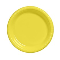 "***Mimosa 10.25"" Plastic Banquet Plates 20ct"