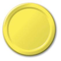 "***Mimosa 7"" Paper Dessert Plates 24ct"