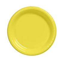 "***Mimosa 7"" Plastic Dessert Plates 20ct"
