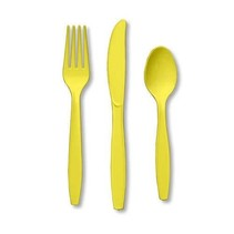 ***Mimosa Assorted Cutlery 24ct
