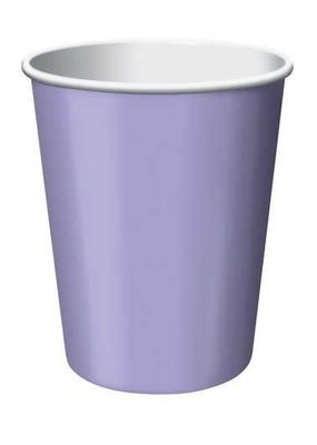 ***Luscious Lavender 9oz Hot Cold Cup 24ct