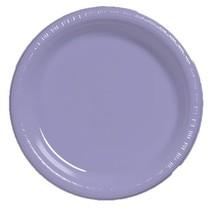 """***Luscious Lavender 7"""" Plastic Dessert Plates 20ct"""