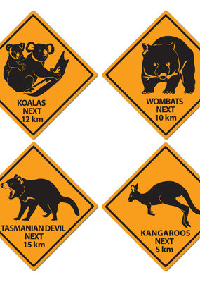 ***Outback Road Sign Cutouts