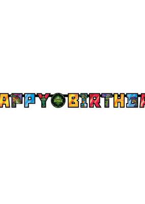 ***Ninja Turtle Large Jointed Birthday Banner