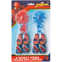 ***Spider-Man Web Sticky Stretch Favors, 4ct