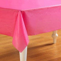 ***Candy Pink 54x108 Rectangle Tablecover