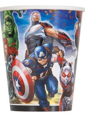 ***Avengers 9oz Paper Cups 8ct